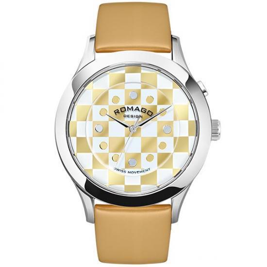 【取り寄せ・同梱注文不可】 ROMAGO DESIGN (ロマゴデザイン) Fashioncode series ファッションコードシリーズ 腕時計 RM052-0314ST-BEWH【代引き不可】【thxgd_18】