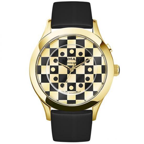 【取り寄せ・同梱注文不可】 ROMAGO DESIGN (ロマゴデザイン) Fashioncode series ファッションコードシリーズ 腕時計 RM052-0314ST-GDBK【代引き不可】【thxgd_18】