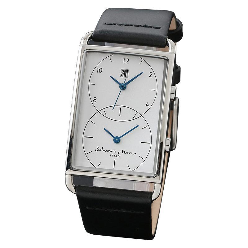 【取り寄せ・同梱注文不可】 Salvatore Marra(サルバトーレマーラ) SM18108-SSWH 腕時計【代引き不可】【thxgd_18】