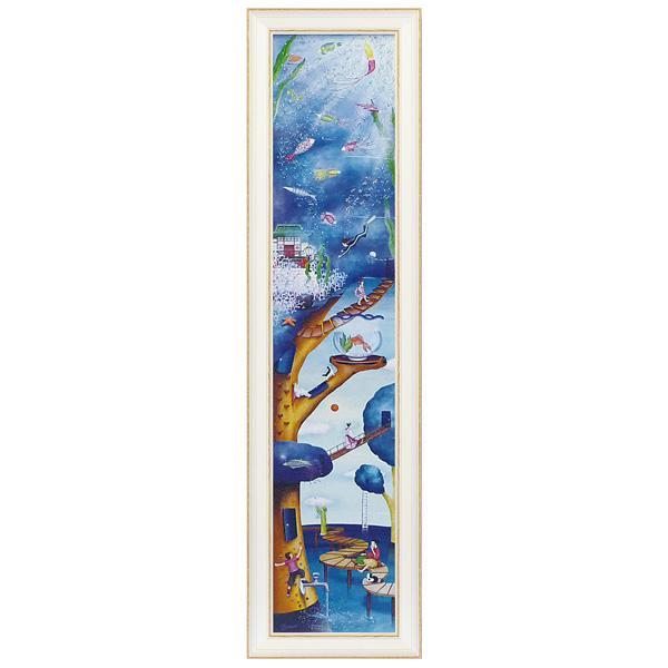 【取り寄せ・同梱注文不可】 ユーパワー アートフレーム なかの まりの Water tree(Lサイズ) NM-15007【代引き不可】【thxgd_18】