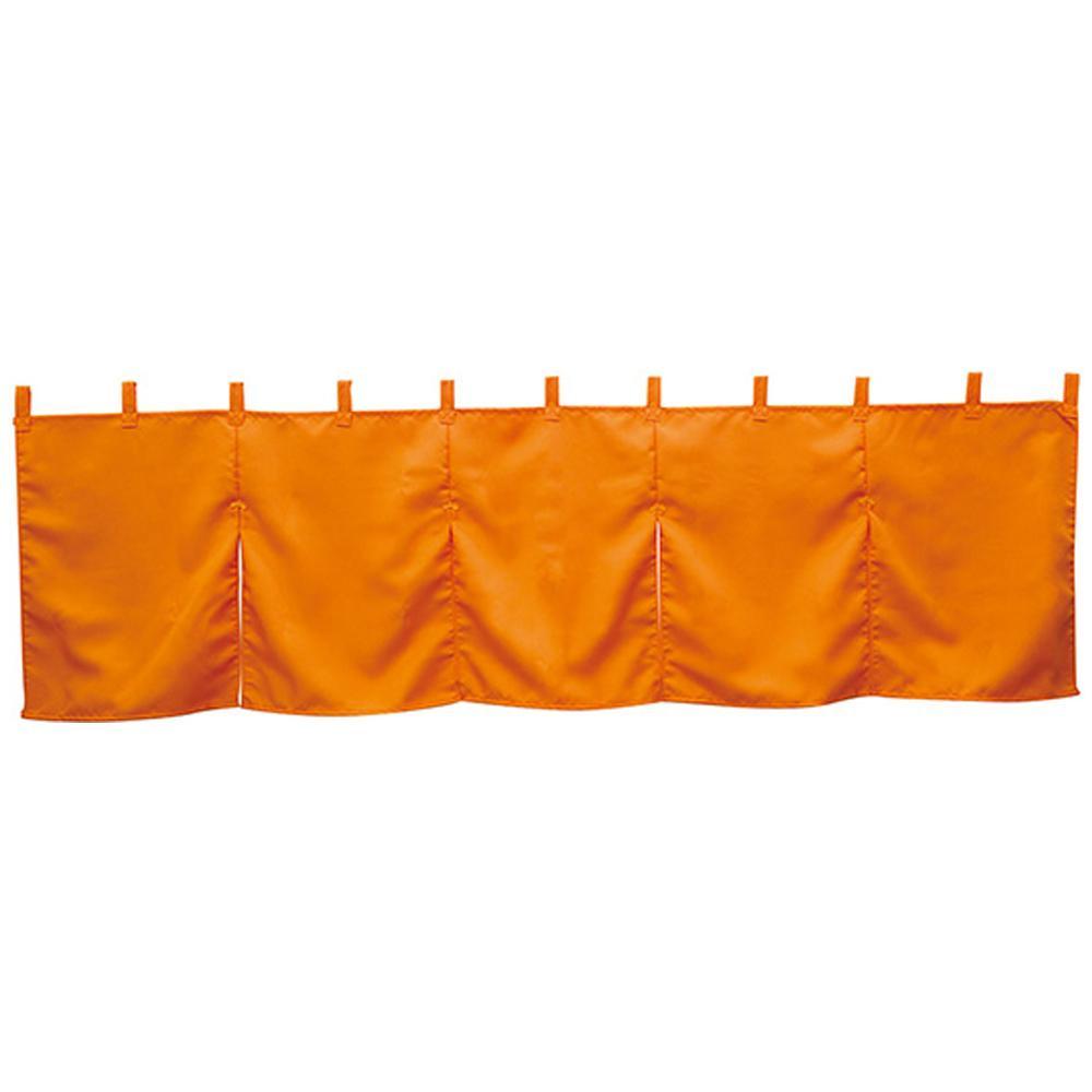 【取り寄せ・同梱注文不可】 N5巾のれん 防炎 1924 オレンジ【代引き不可】【thxgd_18】