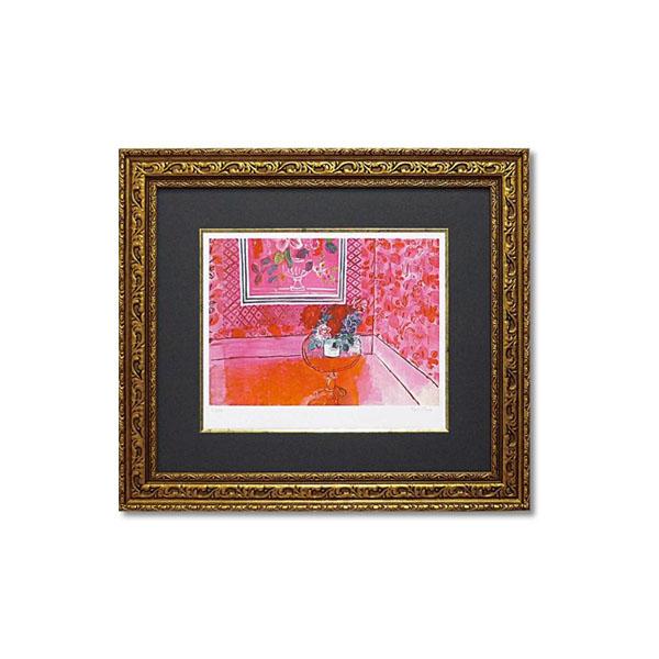 【取り寄せ・同梱注文不可】 ユーパワー ミュージアムシリーズ(ジクレー版画) アートフレーム デュフィ 「バラ色の人生」 MW-18061【代引き不可】【thxgd_18】