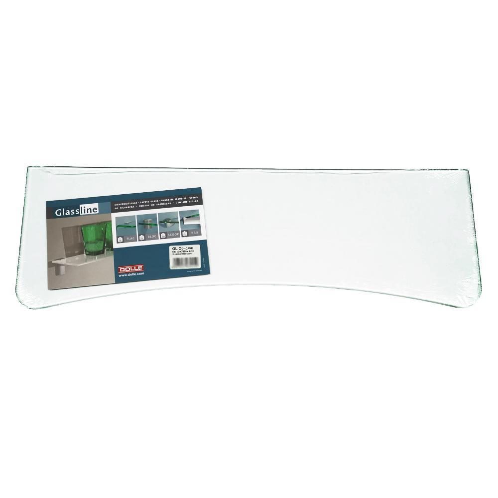 【取り寄せ・同梱注文不可】 KGY(ケイ・ジー・ワイ工業) グラスライン ガラス棚板 凹スタンダード クリアー DL-GL30159C【代引き不可】【thxgd_18】