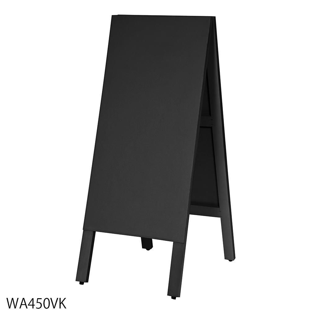 【代引き・同梱不可】【取り寄せ・同梱注文不可】 馬印 多目的A型案内板 黒いこくばん WA450VK【thxgd_18】