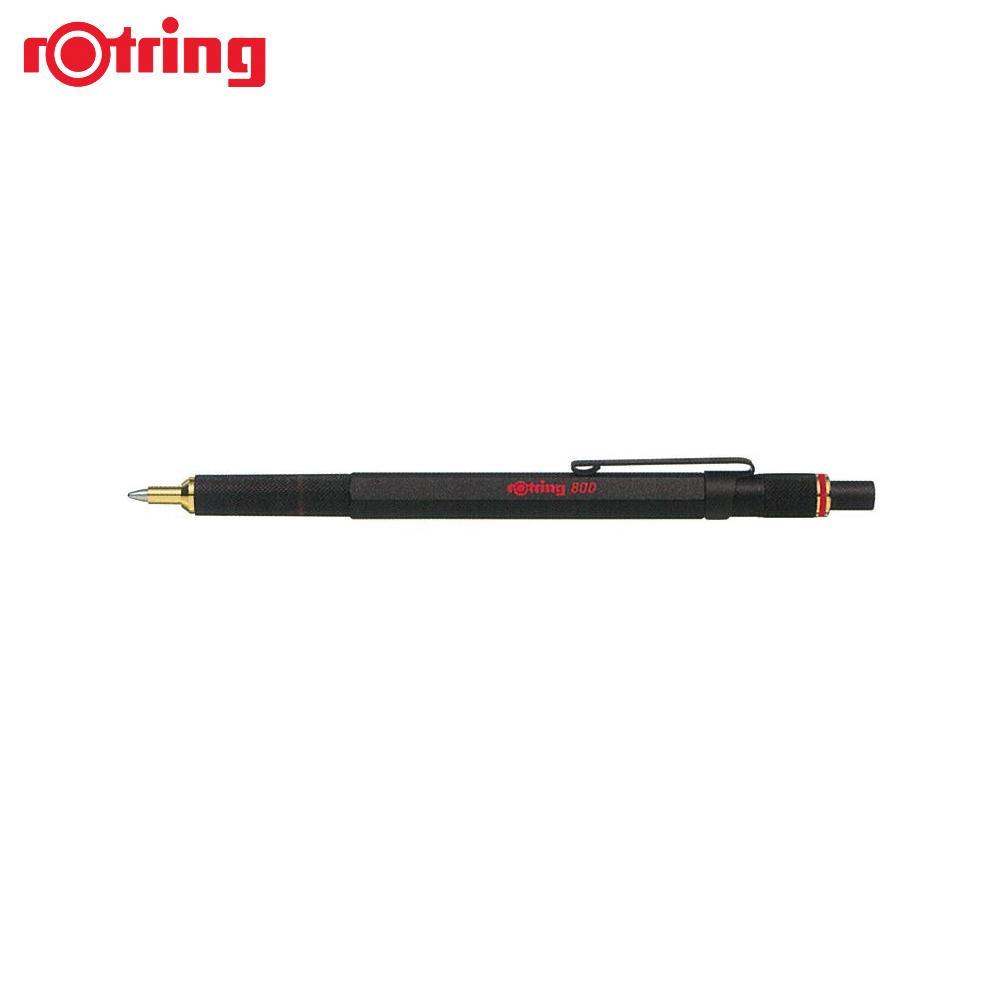 【取り寄せ・同梱注文不可】 ロットリング 800 ボールペン M ブラック 2032579【代引き不可】【thxgd_18】