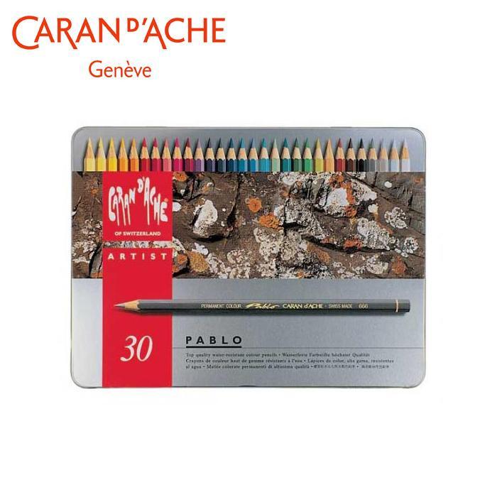 【取り寄せ・同梱注文不可】 カランダッシュ 0666-330 パブロ 色鉛筆 30色セット 619153【代引き不可】【thxgd_18】