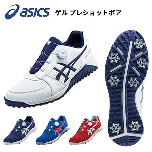 pretty nice 32907 416e8 ASICS gel pre-shot boa men golf shoes (1113A003)
