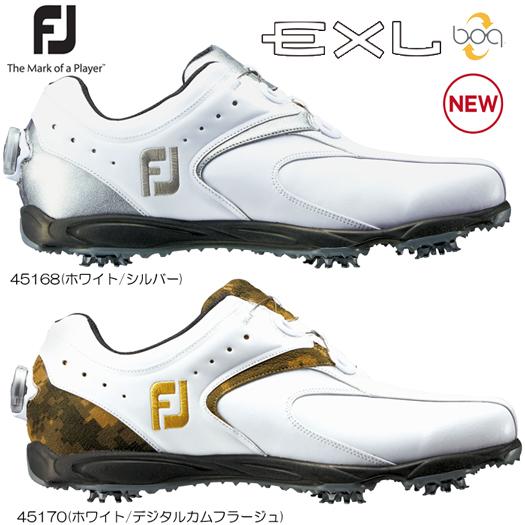 Footjoy フットジョイ EXL boa ボア ゴルフシューズ(45168/45170)日本正規品 2017年/Newカラー