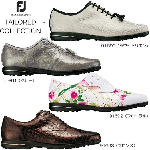 (お取り寄せ)WOMEN'S Footjoy フットジョイ TAILORED COLLECTION テーラードコレクション ゴルフシューズ(日本正規品)2017年モデル