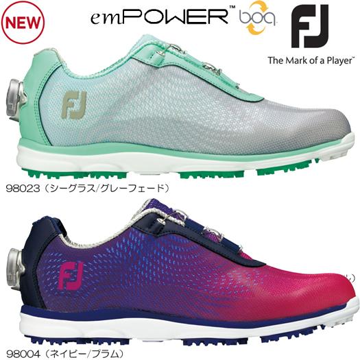 WOMEN'S Footjoy フットジョイ emPOWER エンパワー ゴルフシューズ(日本正規品)スパイクレス 2017年/Newカラー