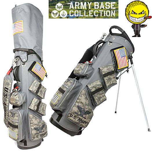アーミーベースコレクション U.S ARMY スタンドキャディバッグ (ABC-019SB)