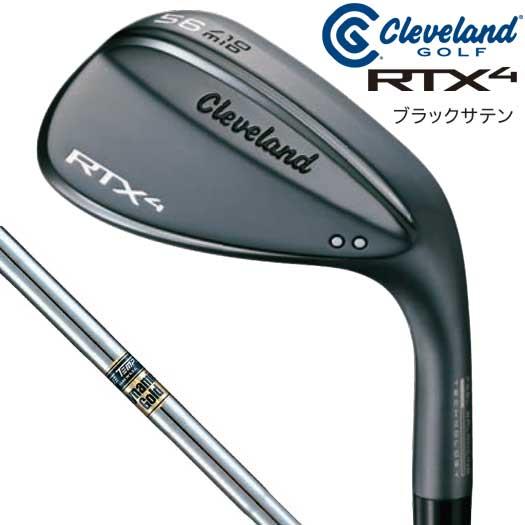 【日本仕様正規品】クリーブランド RTX-4 ブラックサテン仕上げ ダイナミックゴールド S200 シャフト