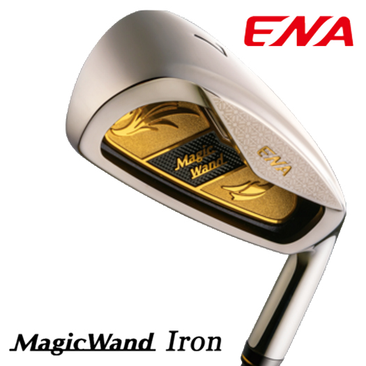 ENA エナゴルフ Magic Wand マジック ワンド アイアンセット 4本セット(8、9、Pw、Aw1)