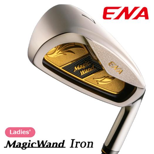 ENA エナゴルフ Magic Wand マジック ワンド レディース アイアンセット 4本セット(8、9、Pw、Aw1)
