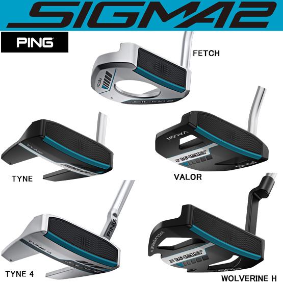 【長さ調整機能付】 PING PING SIGMA2 PUTTER ピンパター PP62グリップ 標準仕様