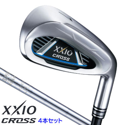 ゼクシオ クロス アイアン4本セット(#7~9、PW)N.S.PRO 870GH DST for XXIO スチールシャフト