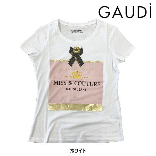レディース ガウディ GAUDI MISS&COUTURE Tシャツ 【921BD64048】2019:ゴルフギアサージ