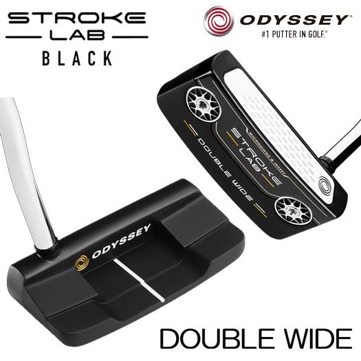 オデッセイ パター ストロークラボ STROKE LAB ブラックシリーズ(DOUBLE WIDE)2020