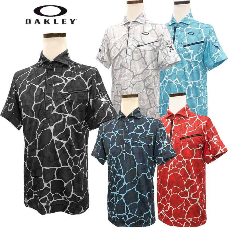 オークリー スカル ブリーザブル グラフィック シャツ 2.0(FOA400799)2020春夏 半袖ポロシャツ