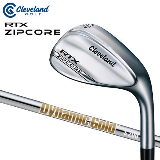 【日本仕様正規品】クリーブランド RTX ZIPCORE ツアーサテン仕上げ ダイナミックゴールド S200 シャフト