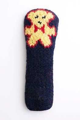 OEIZURU 手編みヘッドカバー ドライバー用 熊さんパターン