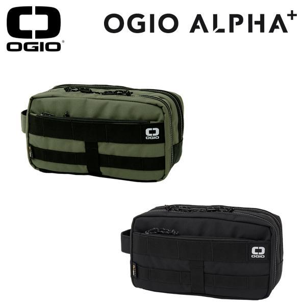 2019年春夏モデル 期間限定の激安セール オジオ OGIO ポーチALPHA ブラック 日時指定 19 JMアルファオリーブ Pouch