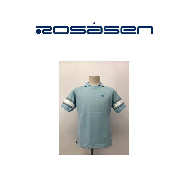 プレゼント企画 冷感マスクプレゼント ロサーセンウェア2枚以上購入でロサーセングッズプレゼントMサイズ クリアランスセール 市場 お気にいる ロサーセン ROSASEN 送料無料044-27341 ライトブルー ポロシャツ半袖