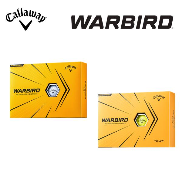 2021年モデル キャロウェイ ウォーバード ゴルフボールCallaway ボール1ダース ゴルフ WARBIRD 期間限定の激安セール 12個入り 直送商品