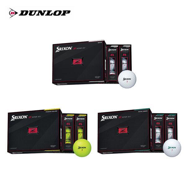 2021年 ダンロップ DUNLOPスリクソン SRIXONZ-STAR 12個入り ゴルフ 激安格安割引情報満載 ボール1ダース SALENEW大人気 XV