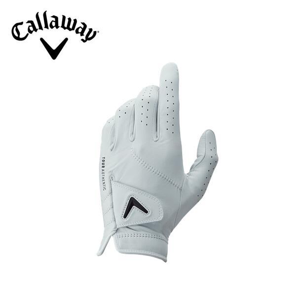 デポー 2020年モデル Callaway Tour 直輸入品激安 Authentic Glove 20 JVツアー メンズキャロウェイ グローブホワイト 2020年 オーセンティック ゴルフ グローブ左手用のみ 21cm~26cm