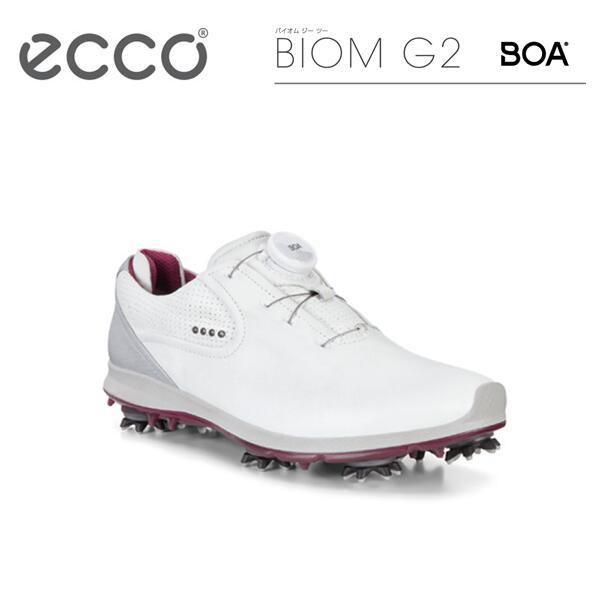 バイオム BIOM GTXレディース 通気性101553 ゴアテックス軽量 ゴルフ G2 G2 シューズスパイク ボアECCO 【期間限定ポイント10倍!】【Lady's】エコー BOA