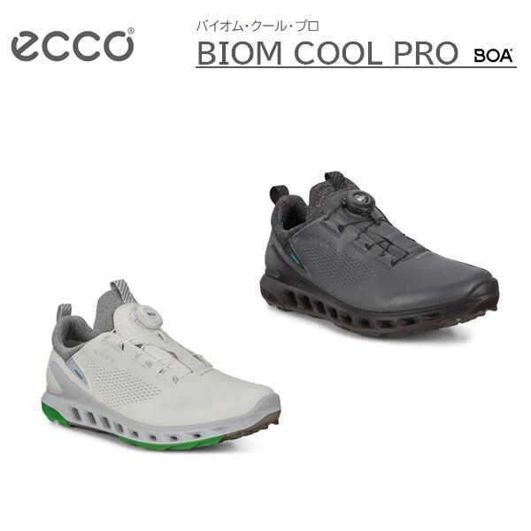 【期間限定ポイント10倍!】ECCO BIOM COOL PRO MENS BOAエコー バイオム クール プロ ボアメンズ ゴルフ シューズSPIKELESS スパイクレス