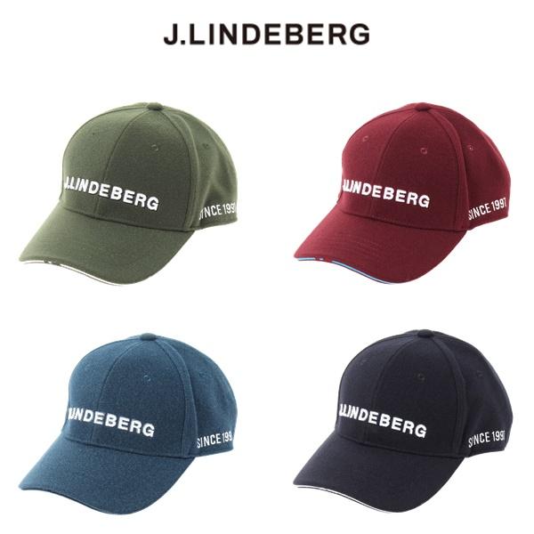 2019年 秋冬モデル ジェイ リンドバーグ キャップ083-51901 ロゴキャップJ.LINDEBERG メンズ 100%品質保証 絶品 2019秋冬
