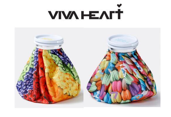 プレゼント企画 安い 激安 プチプラ 高品質 ご購入のお客様に冷感マスクプレゼント 2021年 春夏モデル ビバハート VIVA HEART氷のう 本日の目玉 デザートプリント013-94460