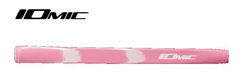 イオミックIOMIC パターグリップオーパス1 ミッドサイズミルキーピンク×ホワイト 品質保証 売り込み Opus1