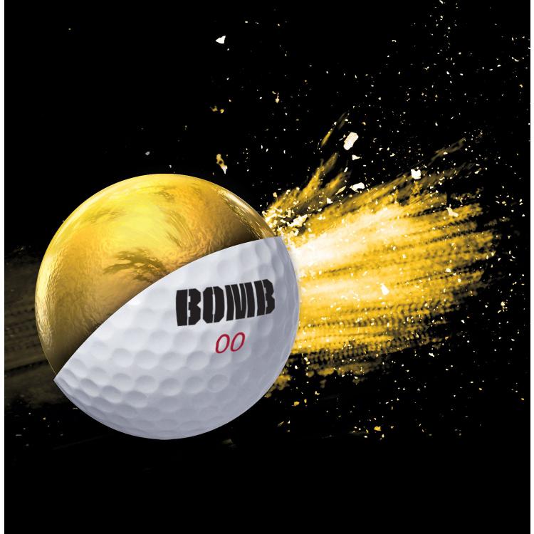 最高层航班炸弹(Top Flite Bomb)高尔夫球(24个装)