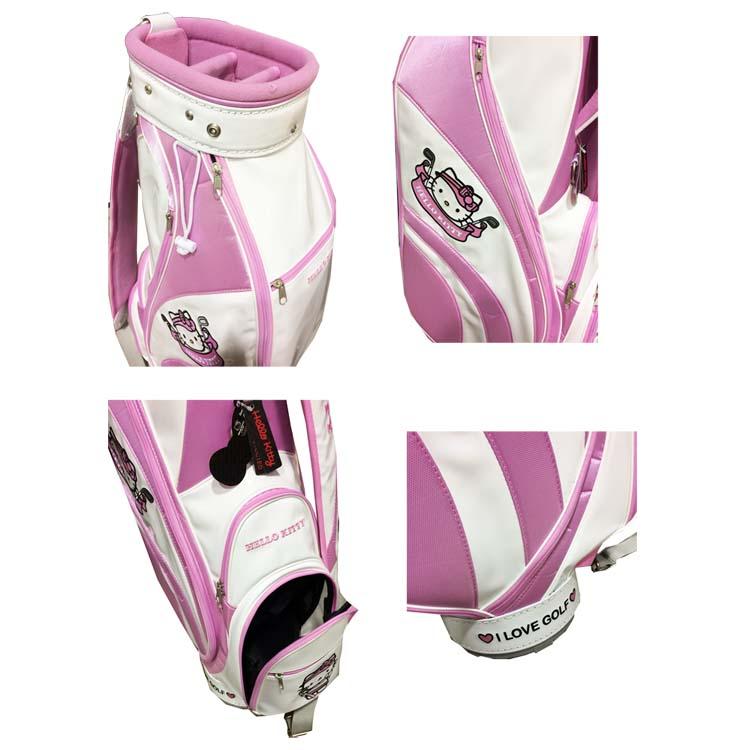 Hello Kitty favor HELLO KITTY golf bag all 4 color HKCB.