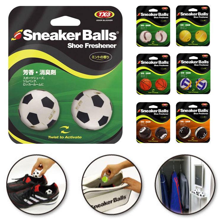 ミューラー ソフソール スニーカーボール 芳香 消臭ボール 2個入 靴 臭い フレッシュグリーンの香り SB Freshener 初売り まとめ買い特価 Balls Shoe Mueller ゴルフ Sneaker SOFSOLE