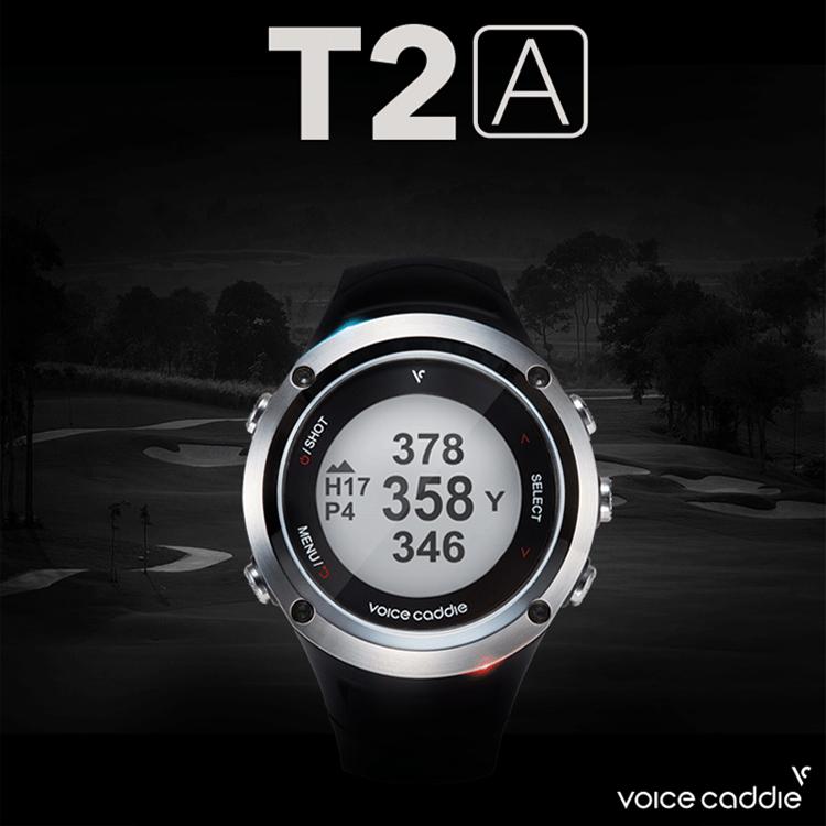 ボイスキャディ(Voice Caddie) リストウォッチ型 GPSゴルフナビ 高性能 GPS搭載 距離測定器 T2A 【ゴルフ コンペ 賞品 景品】