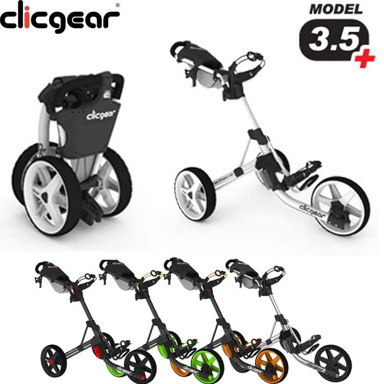 クリックギア(CLICGEAR) 3.5プラス(3.5+)プッシュカート CG351 【ゴルフ】