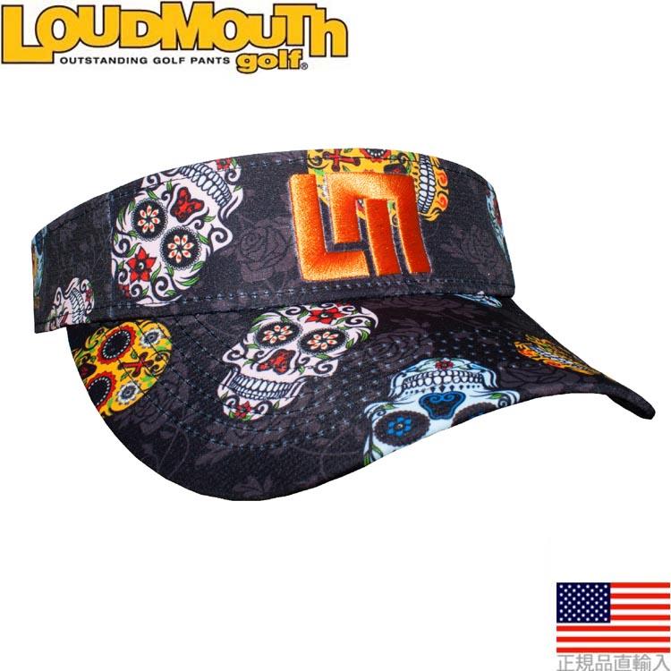 ラウドマウス loudmouth sugar scull visor (Sugar Skulls Visor) LMV85