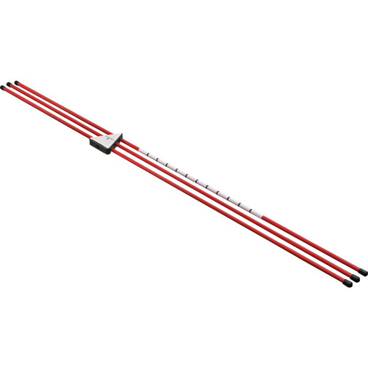 マックスフライ アライメント ポール Maxfli Alignment 3本入 Poles ゴルフ お中元 MX218 推奨