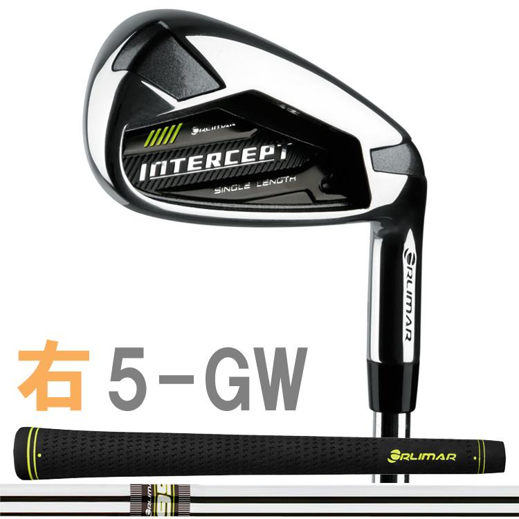 【#5-GW 7本セット】 オリマー インターセプト シングルレングス アイアン クラブ(Orlimar Golf Intercept Single Length) 右打用のみ 全番手37.0インチ INTERCEPT 【ゴルフ】
