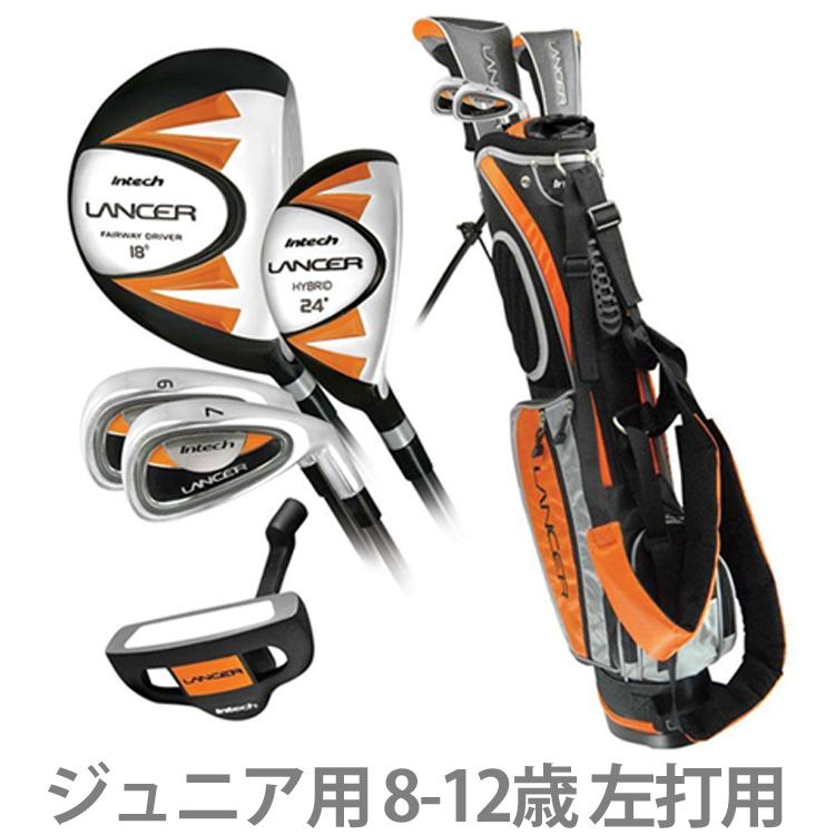 【送料無料】 インテック ランサー ジュニア用 クラブ セット (8~12歳用) (左打用)(Intech Lancer Junior Golf Club Set) K59624 【ゴルフ】