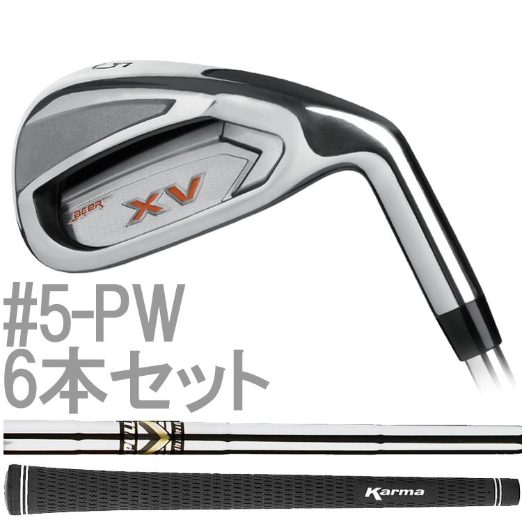 【#5-P 6本セット】 エーサー XV スタンダード アイアンクラブ (Acer XV Standard Iron Club) 右打用 XI3716A 【ゴルフ】