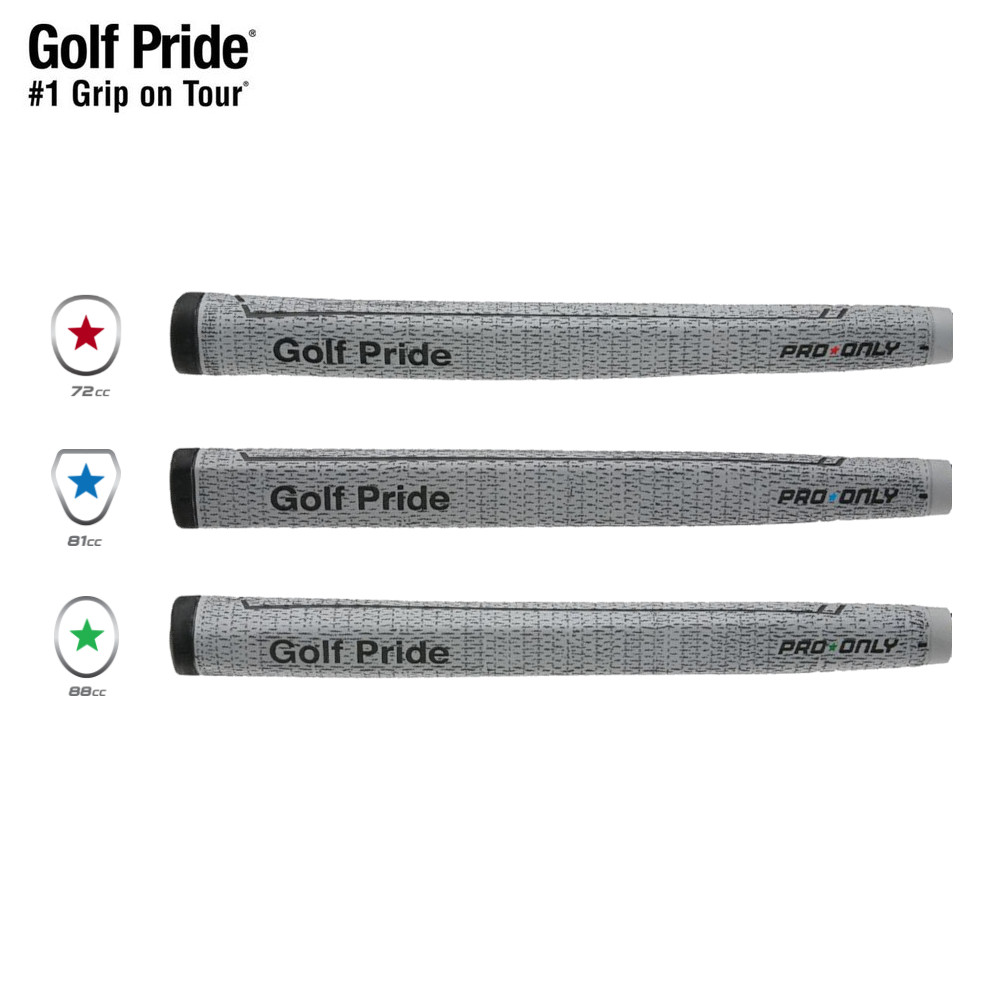 ゆうパケット対応商品 純正品 ゴルフプライド プロオンリーコード パターグリップ レッド グリーン ブルー グリップ スター ゴルフ 200円ゆうパケット対応商品 ご予約品 パター用 GP0161 通信販売