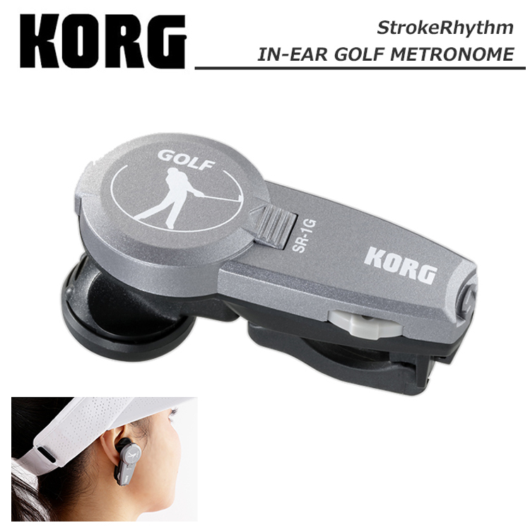 灯G-718 Korg界内年高尔夫球节拍器击韵律KORG Stroke Rhythm SR-1G