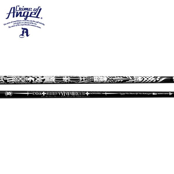 【リシャフト工賃/往復送料込】クライムオブエンジェル エンジェル ウッドシャフト (ブラック) (Crime Of Angel Angel Wood Black)