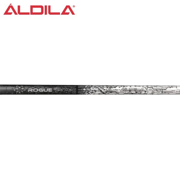 アルディラ Rogue ブラック ハイブリッド アイアンシャフト (ALDILA Rogue Black Hybrid)