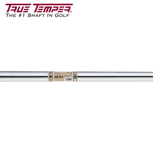 トゥルーテンパー ダイナミックゴールド AMT スチール アイアンシャフト (True Temper DG AMT Iron) 【#5-W/6本組】